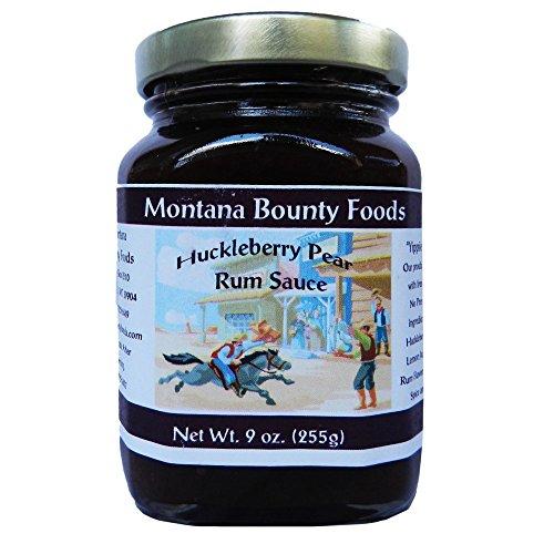Montana Huckleberry Pear Rum Sauce -