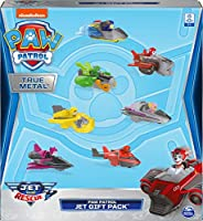 Paw Patrol, True Metal Jet to The Rescue Gift Pack with 7 Collectible Die-Cast Vehicles, 1:55 Scale