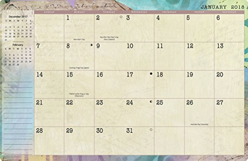 Wells Street by Lang - 2018 Monthly Planner -
