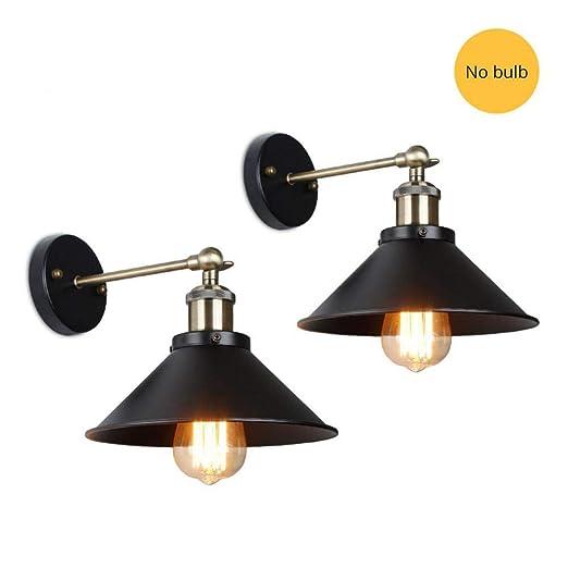 Lámpara DENGSHA Pared Led De De Vintage Lámpara Pared dxoeQrECBW