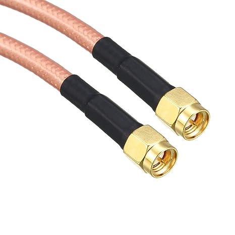 Amazon.com: uxcell RG -142 - Cable coaxial RF de baja ...