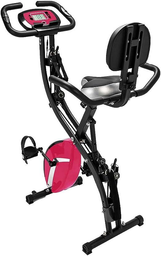 Simply-Me Bicicleta estática de ejercicio 3 en 1 para interiores y ...