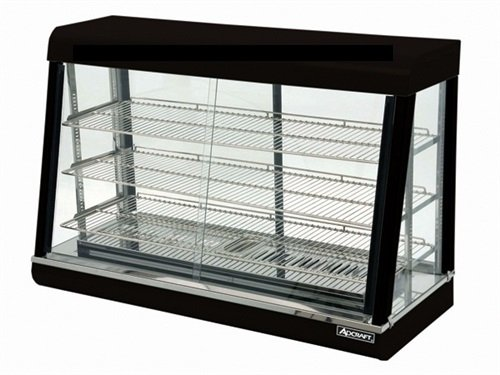Adcraft Countertop Stainless Steel Heated Display, 31 3/4 x 47 1/4 x 20 3/8 inch -- 1 each.