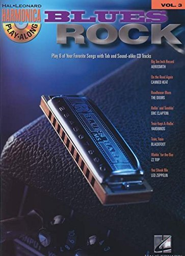 BLUES/ROCK HARMONICA PLAY-   ALONG VOLUME 3 BK/CD         (DIATONIC HARMONICA)