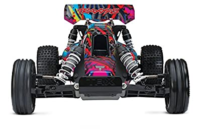 Traxxas Bandit VXL: 1/10 Scale Brushless Buggy with TQi 2.4GHz Radio and TSM, Hawaiian