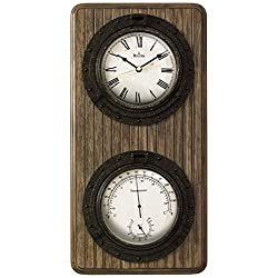 Bulova Monterey Wall Clock - 9.5W x 19H in.