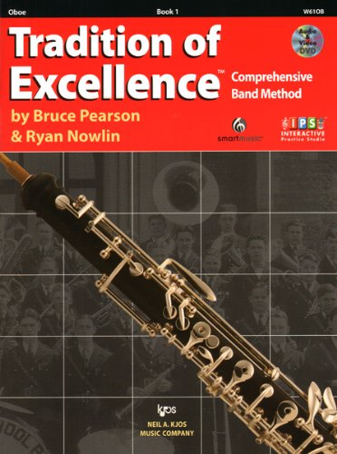 W61OB - Tradition of Excellence Book 1 - Oboe - Sam Ash Oboe