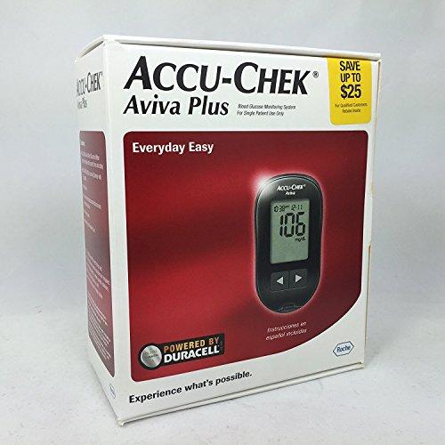 Amazon Accuchek Aviva Plus Meter Health Personal Care