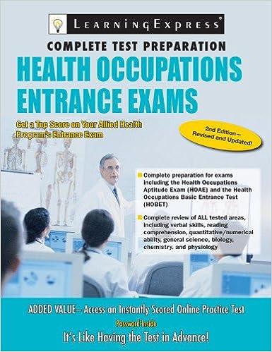 Health Occupations Entrance Exam: 8601419441181: Medicine & Health ...
