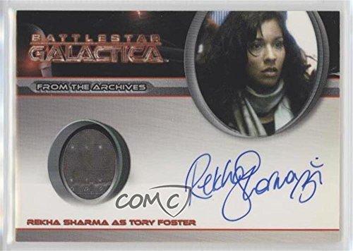 [Rekha Sharma (Trading Card) 2009 Rittenhouse Battlestar Galactica Season 4 - Costume Relic Autographs] (Galactica Costumes)