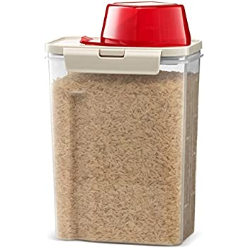 Amazoncom Komax Biokips Fresh Grain Dry Food Plastic Storage
