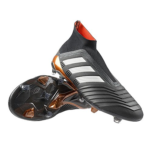 adidas Men's Predator 18+ Fg Firm Ground Soccer Cleats Black/Gold 9