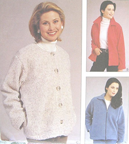 Misses Unlined Jacket Sewing Pattern Nancy Zieman McCall 2298 Size 8-22