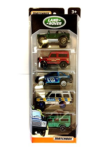 MATCHBOX LAND ROVER 5 PACK product image