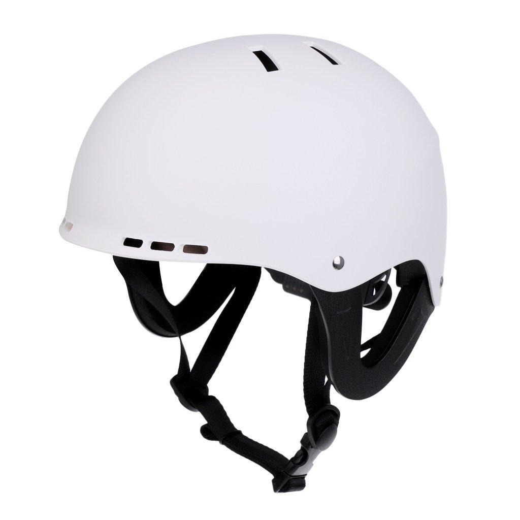 Fenteer Kayak Canoe Boat Wakeboard Safety Helmet Water Sports Equipment - CE Approved