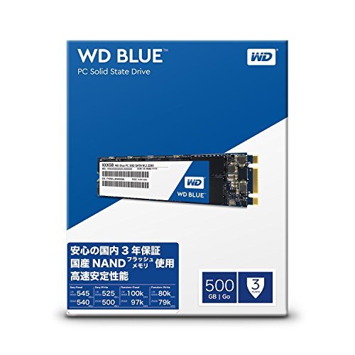 WD Blue 500GB PC SSD - SATA 6 Gb/s M.2 2280 Solid State Drive - WDS500G1B0B [Old Version] Thumbnail 4