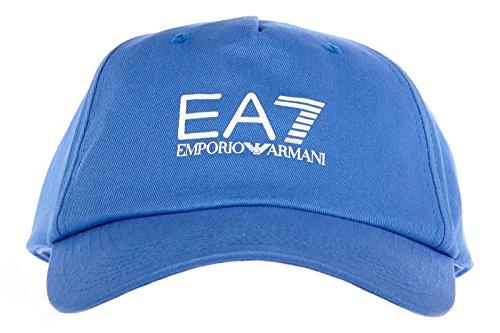 Emporio Armani EA7 chapeau homme réglable en coton core blu