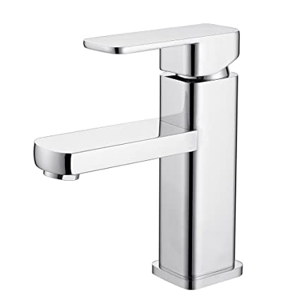 Admirable Galliya Modern Single Handle Bathroom Sink Faucet With Solid Brass And Supply Hose Lavatory Basin Mixer Taps Chrome Finish Chrome 4 Interior Design Ideas Helimdqseriescom