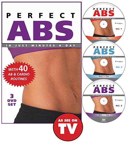 Perfect Abs with 35 AB & cardio routines (Three-Disc Set)