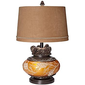 Pacific Coast Lighting Pine Cone Glow Table Lamp In