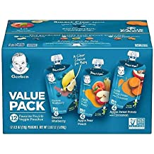 Gerber Toddler Pouch Variety Pack (3.5 oz, 12 ct.)