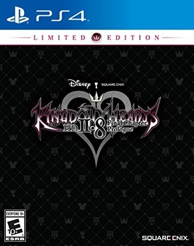 Kingdom Hearts HD 2.8 Final Chapter Prologue Limited Edition - PlayStation 4 (Kingdom Hearts 2 Codes For Action Replay)