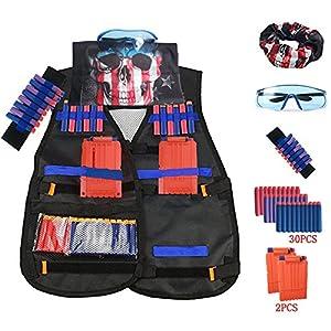 Tactical-Vest-Jacket-kits-for-Nerf-N-Strike-Elite-Series
