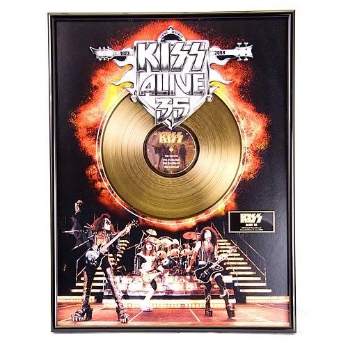 Kiss/Alive! 35 Ltd. Edition Gold Record ()