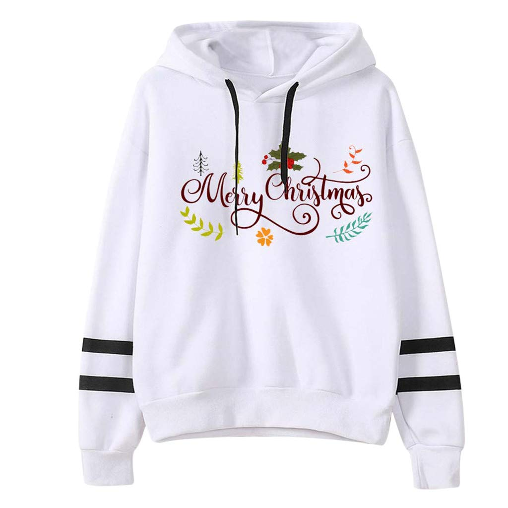 SHUSUEN Teen Girls Hoodies Christmas Printed Sweatshirt Junior Blouse Long Sleeve Pullovers Autumn Tops by SHUSUEN