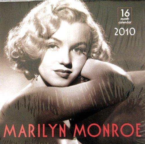16 Month 2010 Calendar (Marilyn Monroe 2010 Mini 16 Month Wall Calendar 2010 Size 7.1