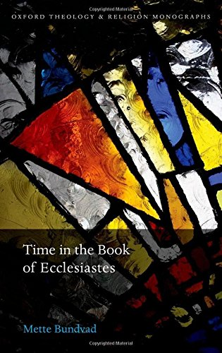 a literary analysis of the book ecclesiastes The book of ecclesiastes was written by this very king solomon ecclesiastes chapter 1 analysis verses 1-3 the words of the preacher, the son of david.