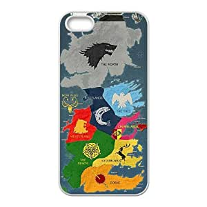 FOR Apple Iphone 5 5S Cases -(DXJ PHONE CASE)-I'm a Khaleesi -Game Of Thrones-PATTERN 6