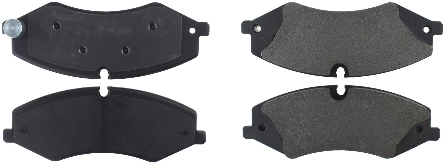 StopTech 308.14790 Street Brake Pads; Front with Shims