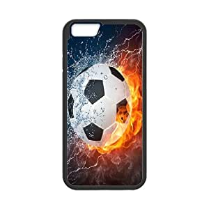 High Quality Phone Back Case Pattern Design 4Love Football,Love Life- For Apple Iphone 6 Plus 5.5 inch screen Cases