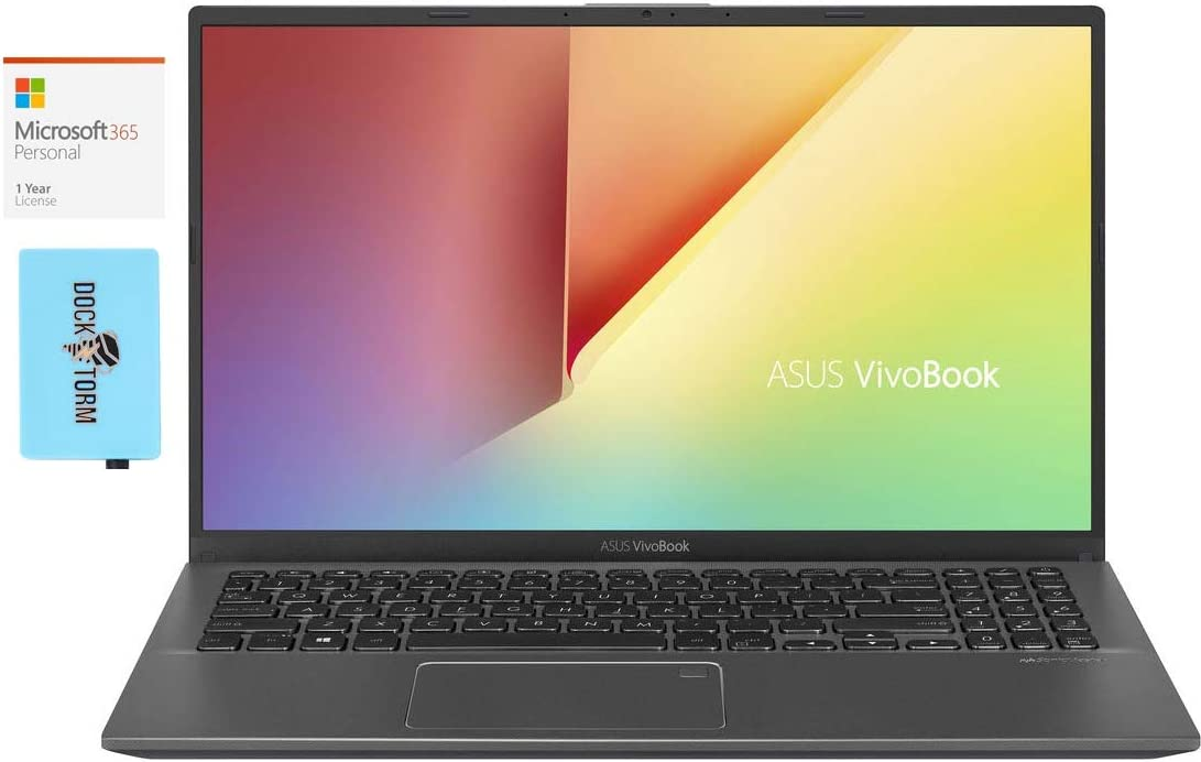 ASUS Vivobook 15 F512DA Home and Business Laptop (AMD Ryzen 7 3700U 4-Core, 24GB RAM, 2TB m.2 SATA SSD, AMD RX Vega 10, 15.6