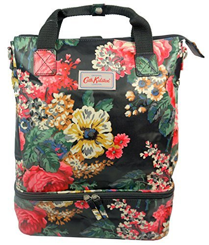 bc64b2503a54a Cath Kidston NEW Matt Oilcloth Double Decker Backpack Bloomsbury ...