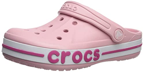 8b08dd046 crocs Unisex Kids Bayaband Clogss K Petal Pink  Buy Online at Low Prices in  India - Amazon.in