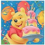 Winnie the Pooh Geburtstag Servietten 2-lagig 20Stück