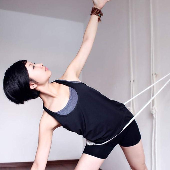Kit de cuerdas de yoga para pared, Eslinga de yoga ...