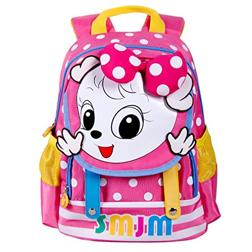 SMJM Kids Backpack Lightweight Kindergarten Preschool Backpack Lovely Cartoon Daypack
