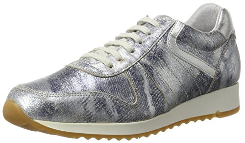 BLACK Damen 236 506 Sneakers Blau (Jeans)