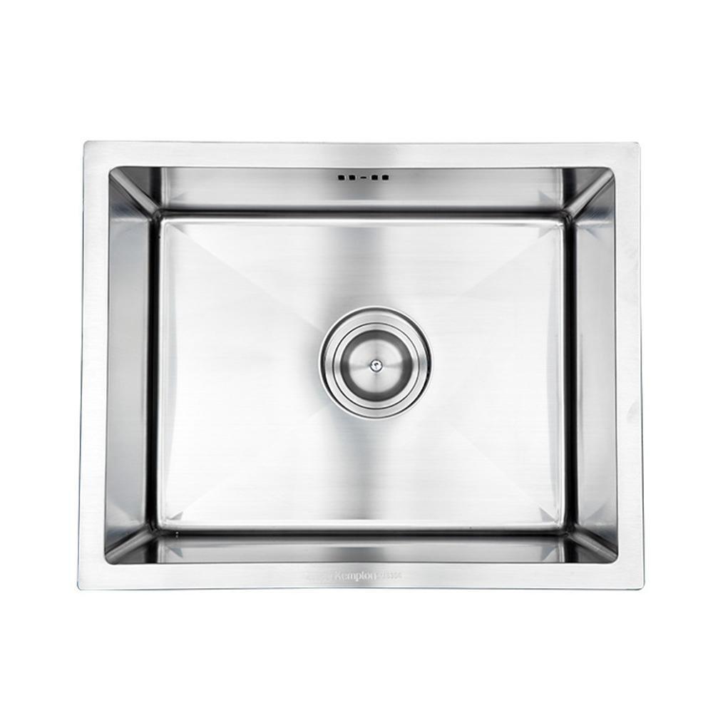 Einzelbecken Küche Drahtziehen Rostfreier Stahl Wasserspüle Becken ...