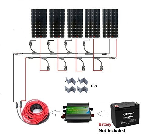 ECO WORTHY Battery Charging Complete Solar product image