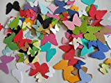 200 mixed color butterflies butterfly die cuts confetti party decor card making scrapbooking