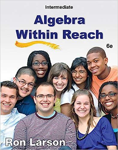Intermediate Algebra Within Reach