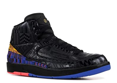 1d63e2585ce168 Nike Air Jordan 2 II Black History Month BHM 2019 BQ7618-007 US Size 8