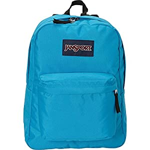 JanSport SuperBreak Backpack (Rainbow Tie Dye)