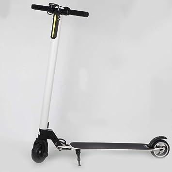 SYCHONG Scooter Eléctrico Plegable, con Pantalla LCD ...