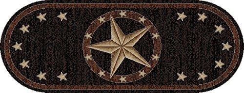Rug Empire 3683 Western Texas Star Area Rug, 2'2 x 5'3
