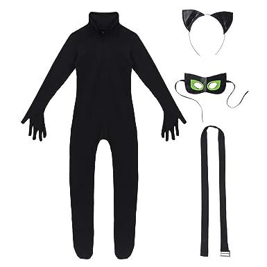 Black Cat Tail 60Cm Long Halloween Fancy Dress